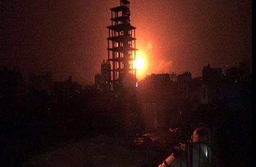 قوى العدوان تشن 13 غارة على العاصمة صنعاء