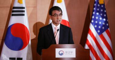 وزيرة الخارجية الكورية الجنوبية تعقد اجتماعا مع نظيرها اليابانى الأسبوع الجارى