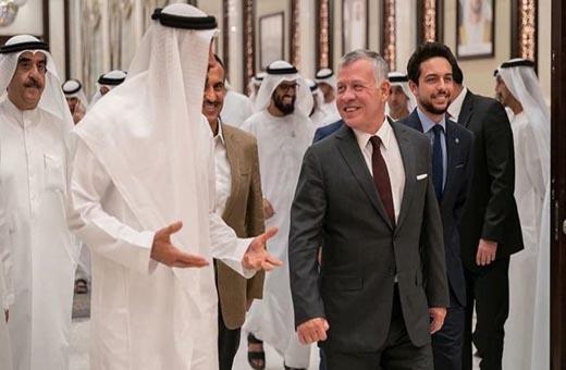 نجل صالح يظهر مع انفصالي يمني في أبوظبي!