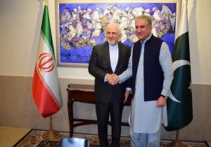 وزيرالخارجية الايراني يلتقي نظيره الباكستاني