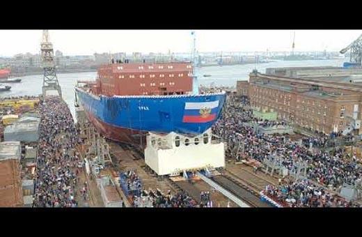 روسيا تدشن كاسحة جليد ذرية من جيل جديد