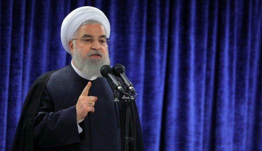 روحاني: سننتصر في ساحة المواجهة مع امریكا
