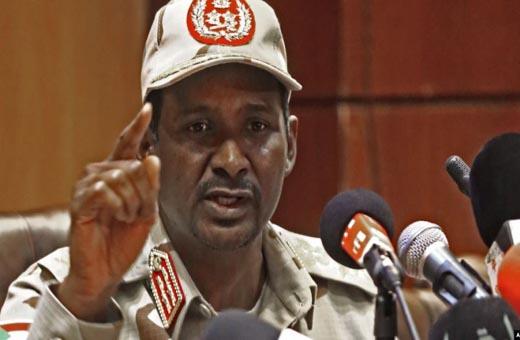 حميدتي: هناك منظمات تتربص بأمن السودان ونحن لهم بالمرصاد!