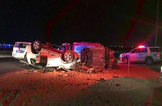 حادث سير مروع في الكويت يودي بحياة 8 أشخاص