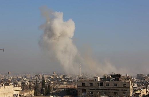 سوريا... سقوط قذائف صاروخية للارهابيين على بلدة قمحانة شمال حماة