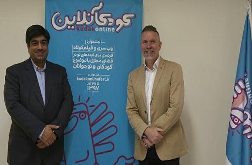 ممثل اليونسيف في ايران يتفقد مركزا لتنمية مواهب الاطفال
