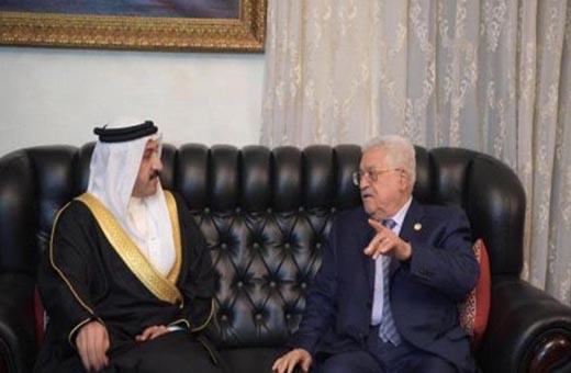 عباس لمبعوث ملك البحرين: نرفض المشاركة بورشة المنامة