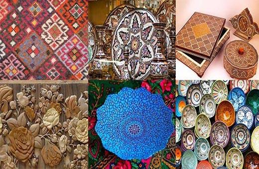 الصناعات اليدوية الايرانية وشهرتها العالمية