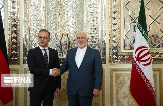محادثات وزيري الخارجية الإيراني والألماني في طهران