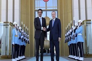 العلاقات التركية القطرية تتطور... وأردوغان يلتقي أمير قطر في طاجيكستان