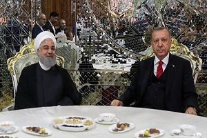 ايران وتركيا تؤكدان معارضتهما للحظر ونهج التفرد في العلاقات الدولية