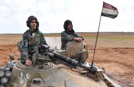 ضربات مدفعية مركزة على الإرهابيين بريفي حماة وإدلب