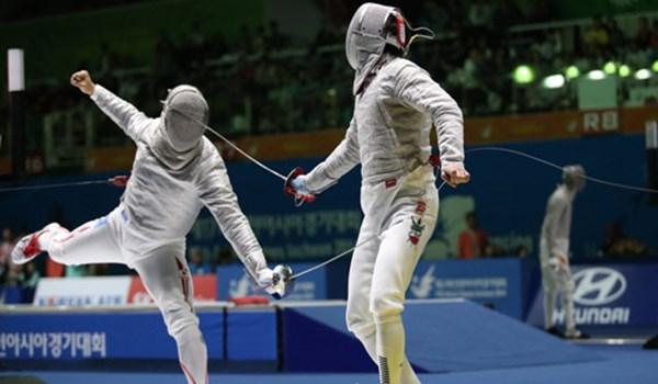 ايران تحرز وصافة بطولة آسيا للمبارزة