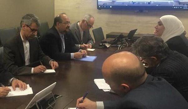 وزير العمل : ايران مستعدة لنقل خبراتها المهنية الى سوريا