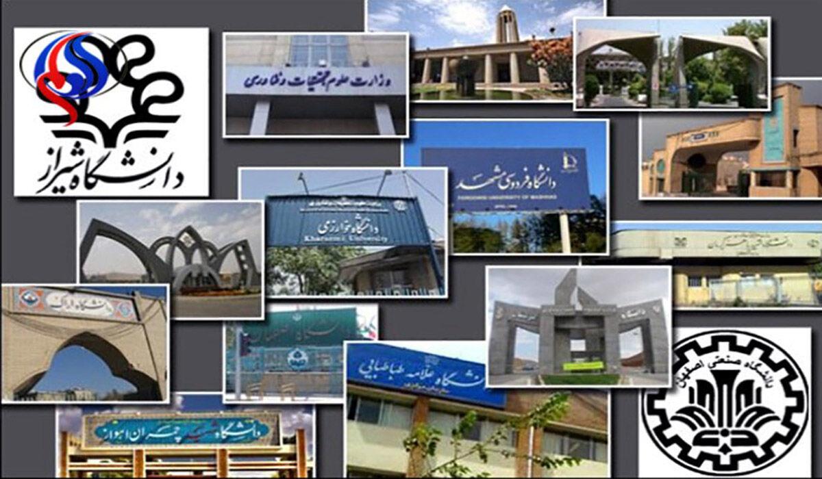 ست جامعات إيرانية ضمن تصنيف QS لأفضل الجامعات