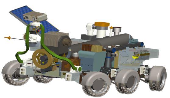 العلماء الروس يصممون روبوتا جيولوجيا للعمل على سطح القمر