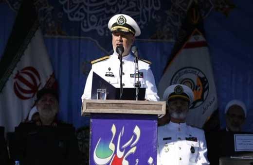 الادميرال خانزادي: العدو لن ينفذ بجلده لو تحرش لنا