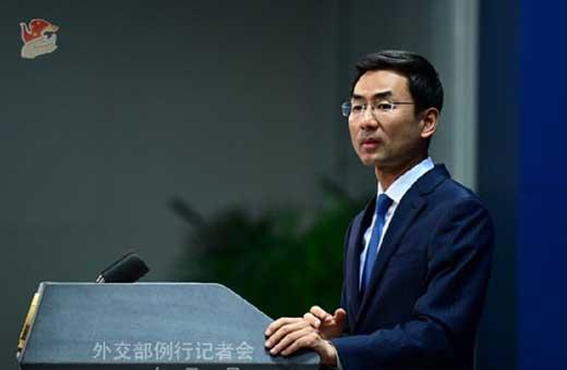 الصين تدعو ايران وامريكا إلى ضبط النفس