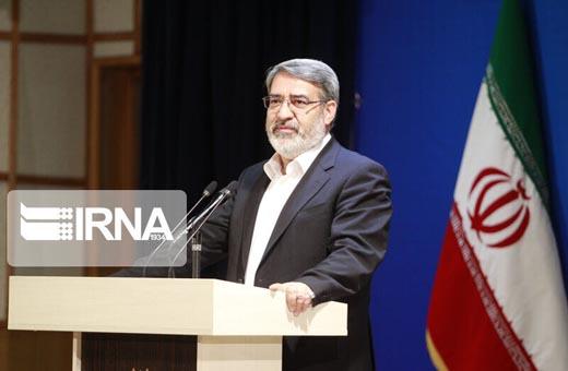 وزير الداخلية: الحرب الاقتصادية الامريكية تخل بالاجراءات الانسانية الايرانية