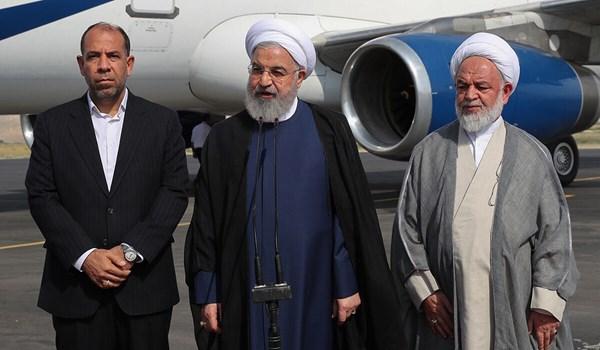 روحاني: سيتم اتخاذ قرارات مهمة لتطوير محافظة خراسان الشمالية