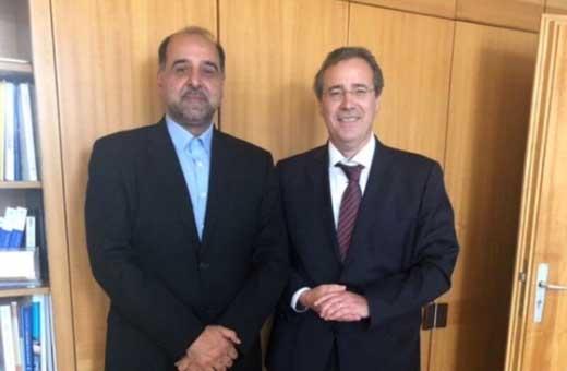 سفیر ایران ومسئول في الخارجية الالمانية یبحثان اينستكس