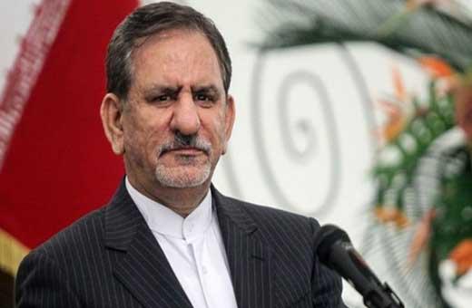 جهانغيري: لاينبغي فرض حظر على ايران وفق الاتفاق النووي