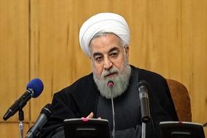 الرئيس الايراني: تقليص التزامات ايران في الاتفاق النووي هو اجراء متبادل