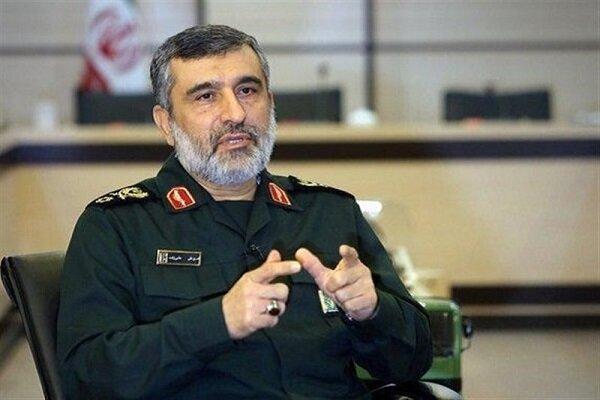 قائد عسكري : ايران احدى القوى الصاروخية الكبرى في العالم