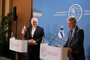 ظريف : بيع النفط الايراني لم يتعرض للحظر من اي جهة دولية