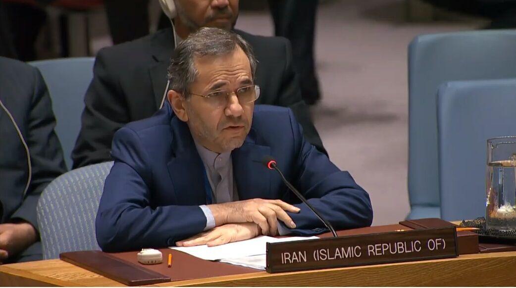 مندوب ايران بالأمم المتحدة: تدخل القوات الأجنبية في مضيق هرمز يزعزع الاستقرار