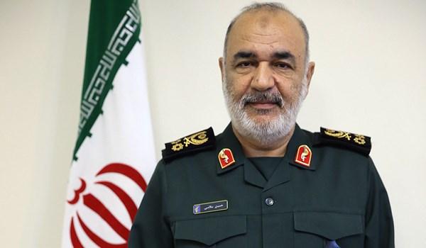اللواء سلامي: أمن الخليج الفارسي بيد ايران