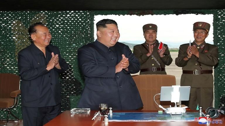 كوريا الشمالية تنشر صور منصتها الجديدة لإطلاق الصواريخ + صور