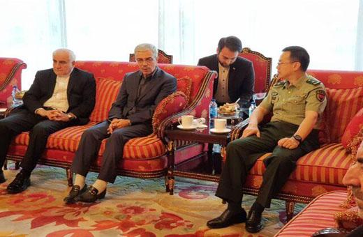 اللواء باقري : تعزيز العلاقات بين ايران والصين يحظى بأهمية لدى الجانبين