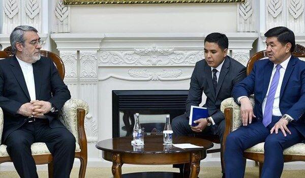 رئيس وزراء قرغيزيا يؤكد معارضة بلاده للحظر الامریكي ضد ايران