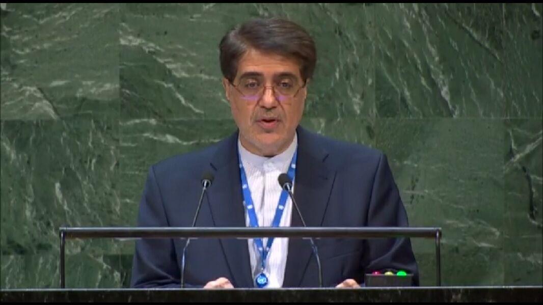 مندوب ايران في الامم المتحدة: نزعة الاحادية تنمي الارهاب في العالم