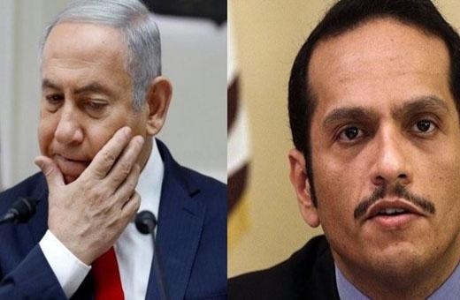 قطر تصدم نتنياهو !