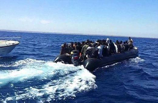 لبنان توقف مركبا يقل مهاجرين غير شرعيين في مياهها الاقليمية