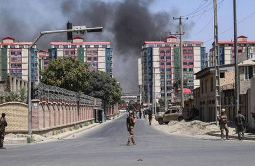 انفجار قرب مقر المخابرات الأفغانية في ولاية زابل