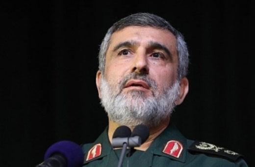 العميد حاجي زادة: لو ارتكب العدو اي حماقة فسيتلقى ردا قاصما
