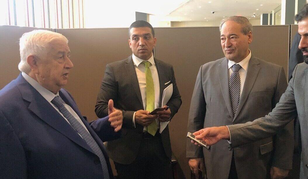 وزير خارجية سوريا : ندعم مبادرة هرمز للسلام