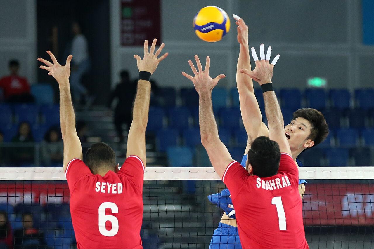 كرة الطائرة الايرانية تتأهل الى اولمبياد طوكيو 2020
