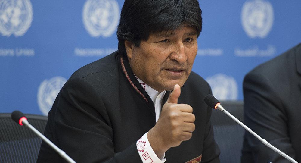 رئيس بوليفيا السابق يدعو إلى تشكيل