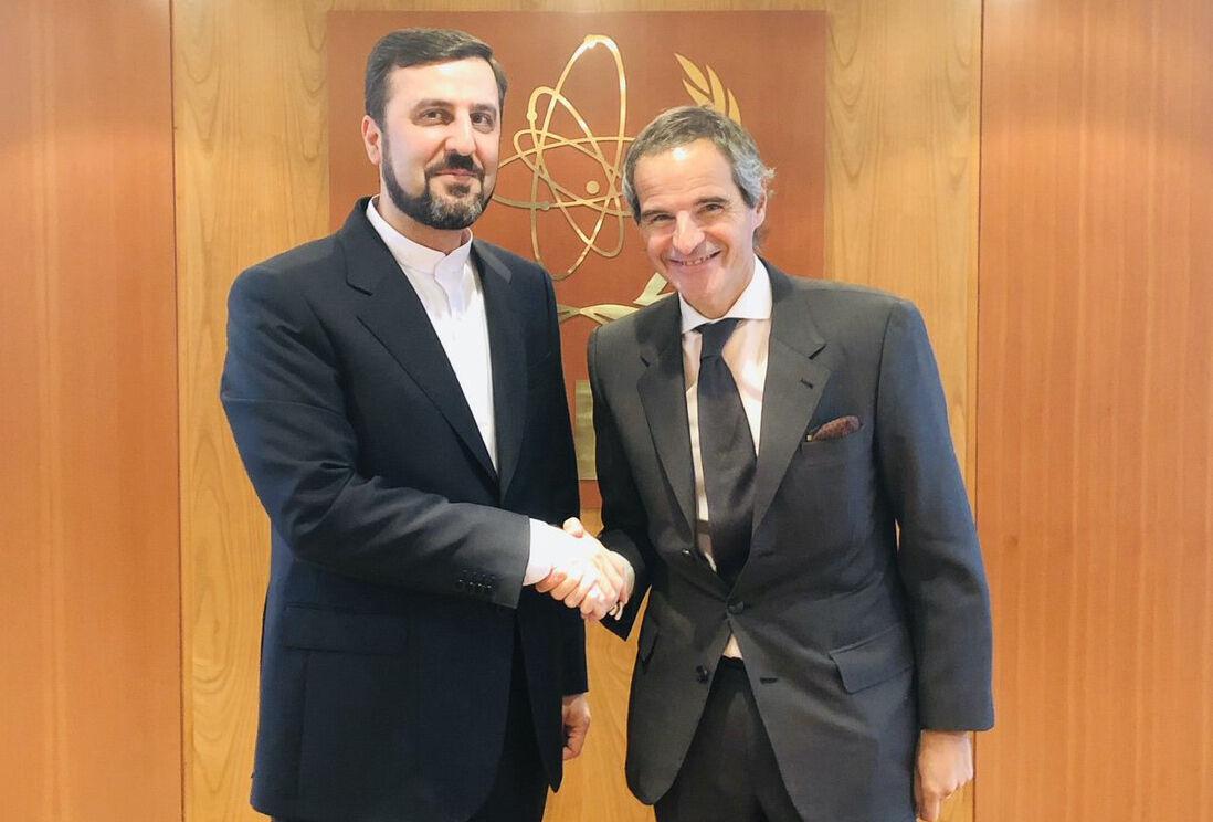 سفير ايران ومدير الوكالة الذرية يبحثان بشان الاتفاق النووي