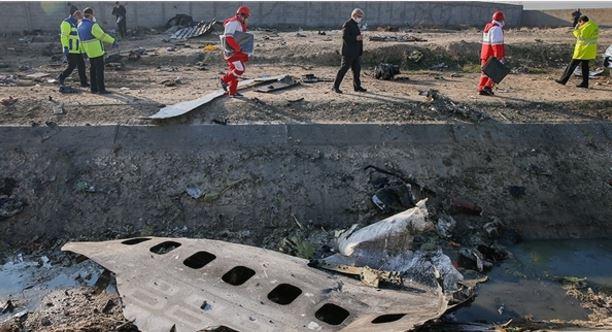 ايران: اعتقال عدة اشخاص على صلة بحادث الطائرة الاوكرانية