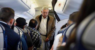 رئيس المكسيك يعرض الطائرة الرئاسية للبيع لمكافحة الفقر