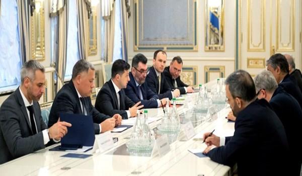 الرئيس الاوكراني: ايران التزمت بتعهداتها حول الطائرة