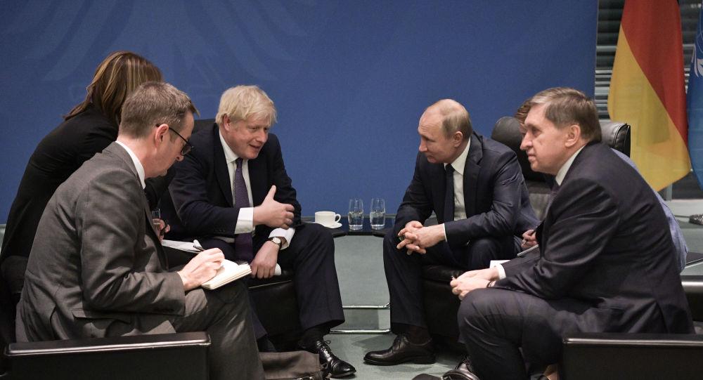 الكرملين: لقاء بوتين وجونسون في برلين كان موجزا وبناء