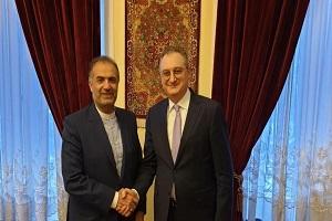 تاكيد ايراني روسي على تنمية العلاقات بين البلدين