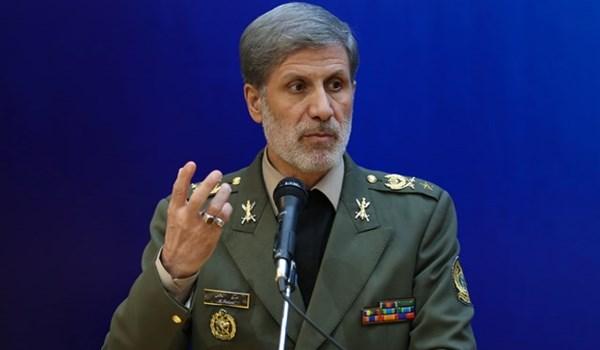 وزير الدفاع الايراني: نسد الفراغ الذي خلّفه الشركاء الاجانب في قطاع صناعة السيارات