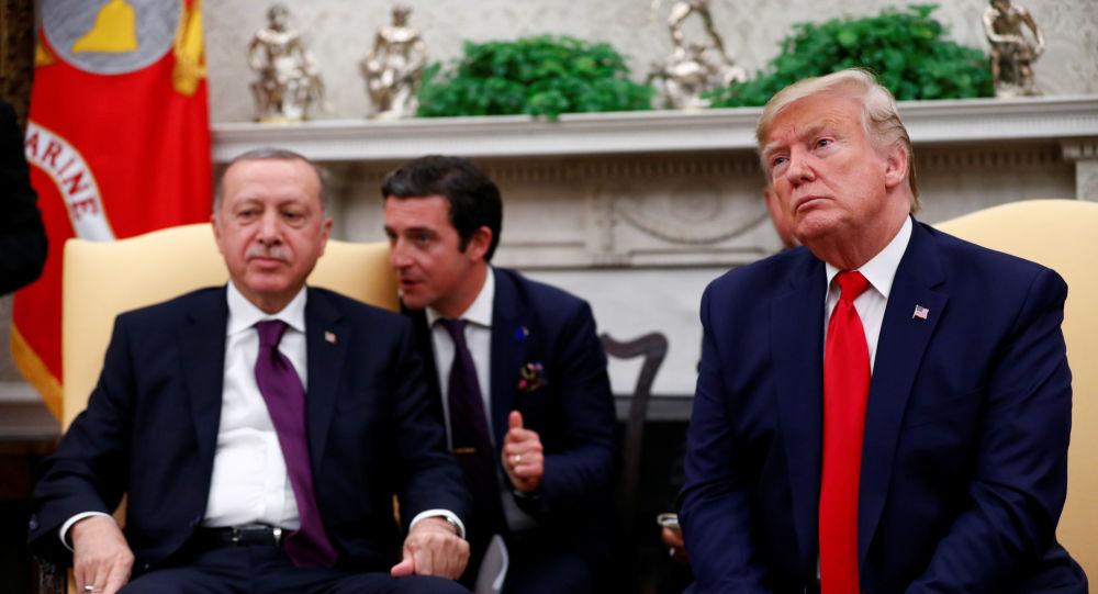 ترامب يبحث مع أردوغان الوضع في ليبيا وسوريا